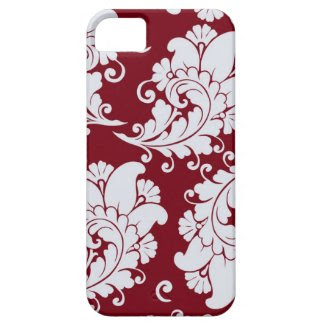 Damask vintage paisley wallpaper floral pattern iPhone 5 covers