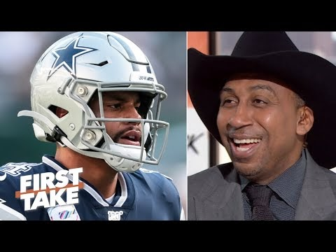 Stephen A. is overjoyed with the Cowboys' 3-game losing streak on his birthday | First Take - ESPN