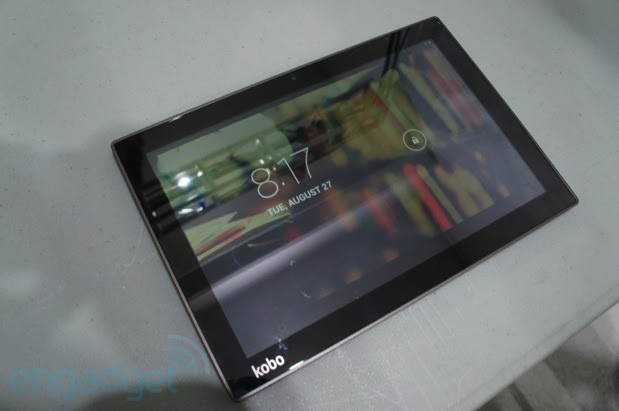 Kobo goes for the top of the line with 10inch Arc 10HD tablet, we go handson