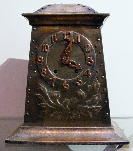 Large Arts And Crafts Clock