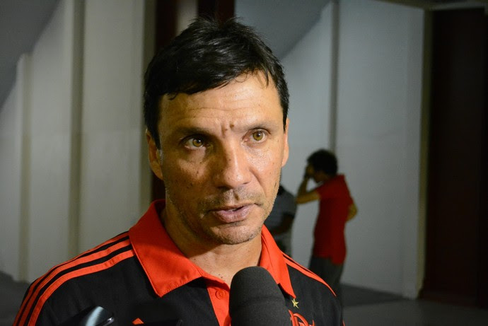 Zé Ricardo técnico Flamengo sub-20 (Foto: Nicholas Modesto)
