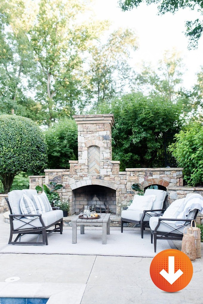 12 Easy Fireplace Garden Patios - Projects