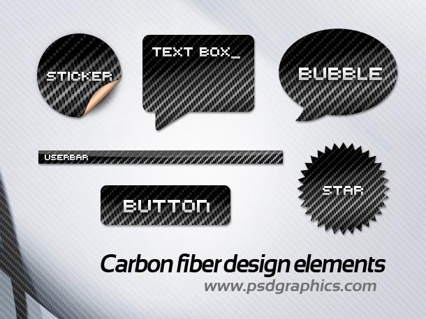 carbon fiber buttons