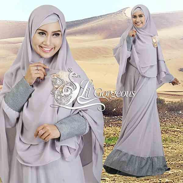 Model Busana Muslim Syar'i Modern Terbaru