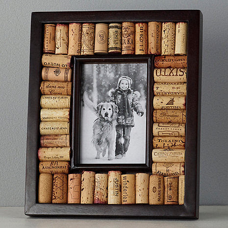 Wine Cork Picture Frame 8x10 Photo Espresso Finish Good Wine Coolers