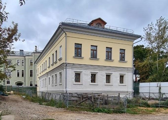 Дом двух эпох: отреставрированы фасады палат Киреевского