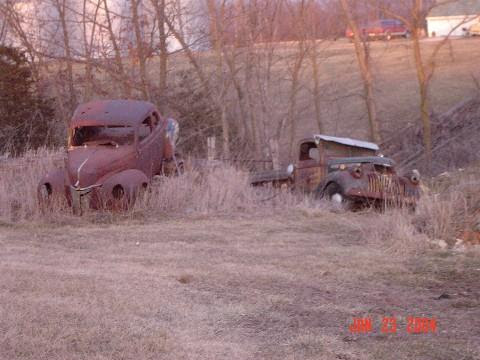 Into the wild..... to where the junkyards are....