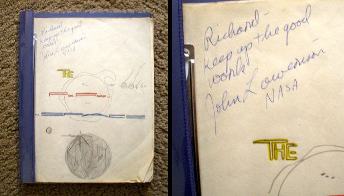 My first 'space album'...which was autographed by an actual NASA employee in 1992.