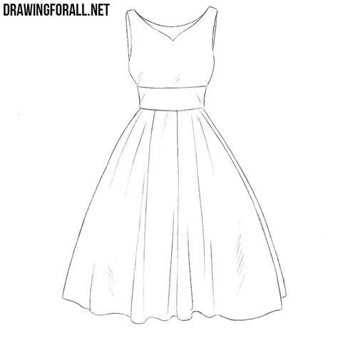 draw  dress step  step  beginners