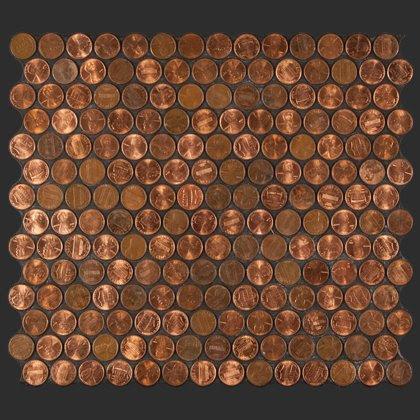 Copper Penny Tile Texturaldesigns Com
