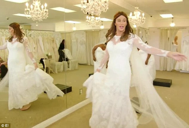 Fourth time lucky?Caitlyn Jenner has never stepped down the aisle. And clearly, the former Keeping Up With The Kardashians star has an interest in doing so one day