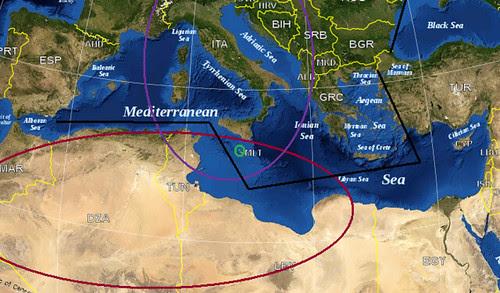 Malta in the Mediterranean