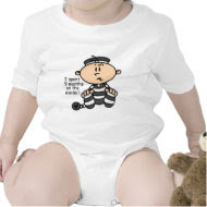 9 Months On The Inside Baby Prisoner shirt