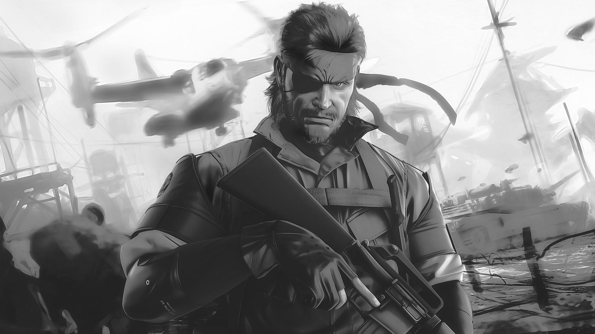 Metal Gear Big Boss Wallpaper 83 Images