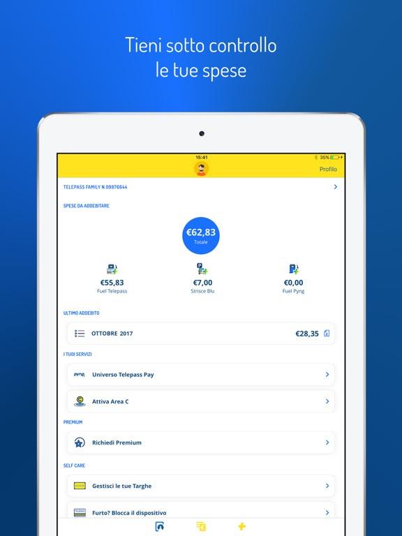 L'app Telepass per iPhone e iPad si aggiorna alla vers 2.1