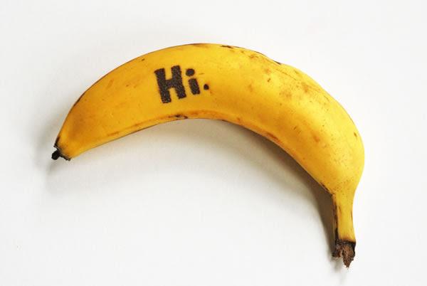 Bananas con mensajes 2
