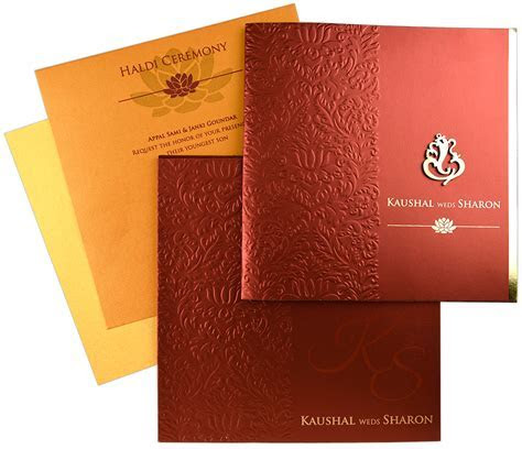 The Symbols Found in Hindu Wedding Cards and Their Meaning