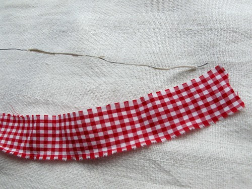 wire and fabric strip
