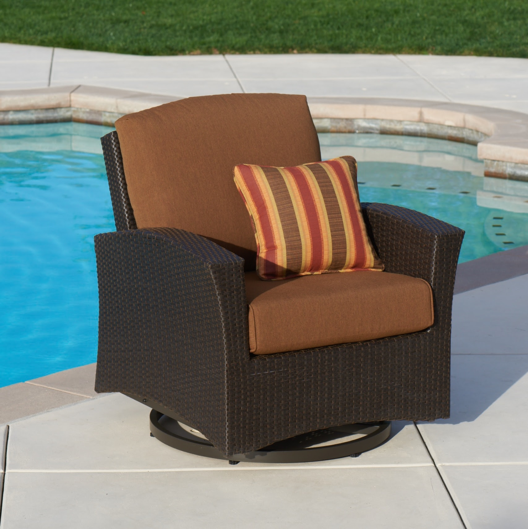 Santa Fe 5-pc Motion Chat Set with Fire Table - Canvas ...