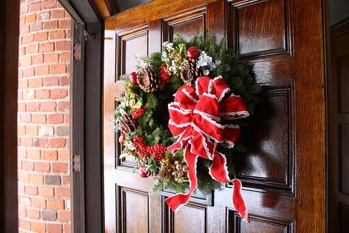 M & D's wreath