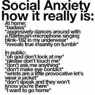 Quotes About Having Social Anxiety 19 Quotes