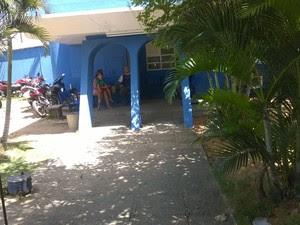 Homem foi levado para a Delegacia de Plantão da Zona Sul (Foto: Eduardo Rodrigues/G1)