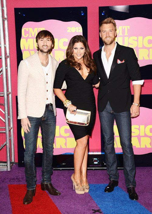 2012 CMT Awards in Nashville, TN - June 6, 2012, Lady Antebellum