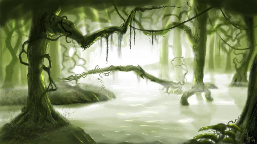 swamp by kevinPage on DeviantArt