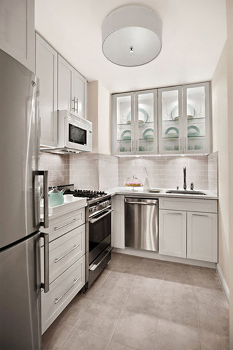 Modern Small White Kitchens Decoration Ideas Kitchen Design Minimalist