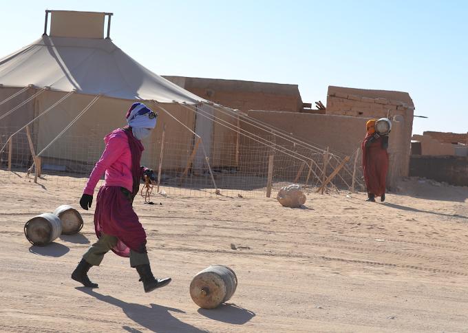 ¿Qué sucedió en 1975 para que en la actualidad la población saharaui viva bajo exilio y ocupación?
