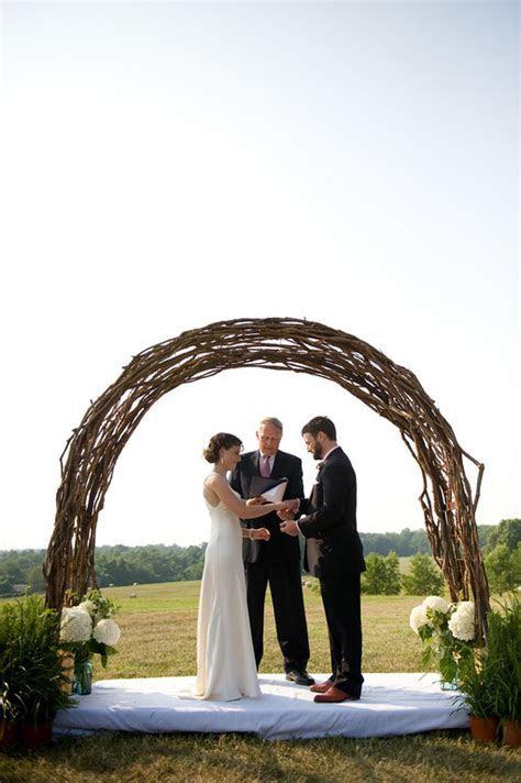 3 DIY wedding arch