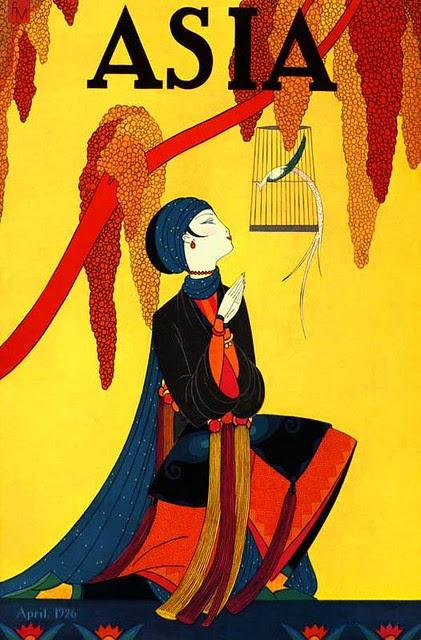Asia cover, April 1926