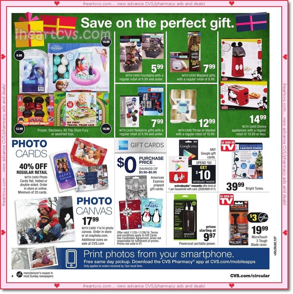 I Heart Cvs Ads 11 20 11 26 Black Friday Part 1 $10 off an order of $65+ on cvs.com. i heart cvs ads 11 20 11 26 black