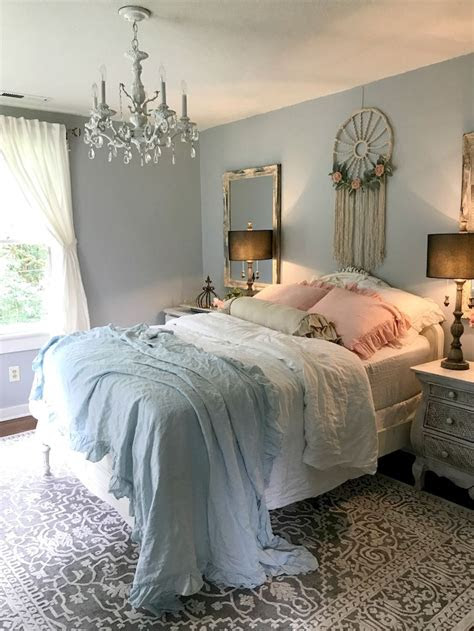 romantic shabby chic bedroom decorating ideas