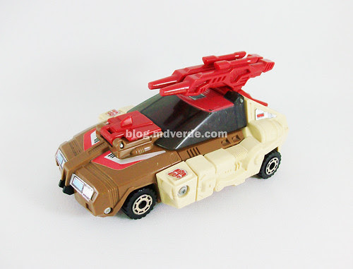 Transformers Chromedome G1 - modo alterno