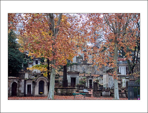 herfst op pere lachaise