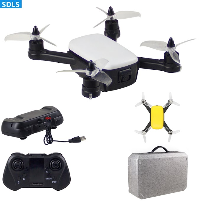 RC Drone GPS 5G 1080P HD Wifi Camera 30FPS Quadrocopter Brushless Helicopter Automatic Return GPS Positioning Dron Carrying Case