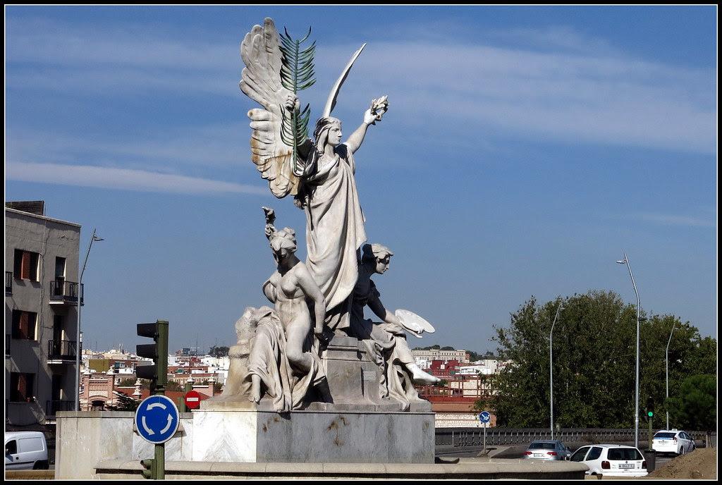 Esculturas en las calles de Madrid