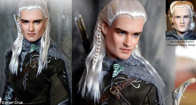 Legolas: Orlando Bloom's character doll from Lord Of The Rings
