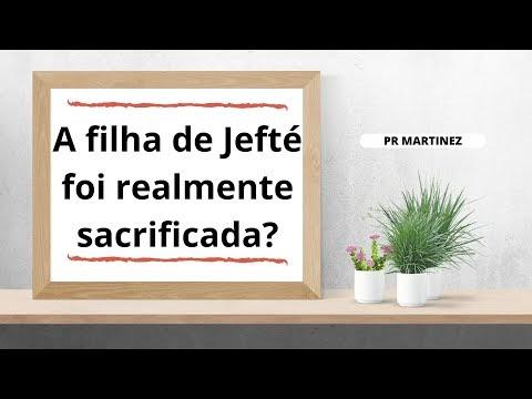 Jefté não imolou sua filha (Jz 11)