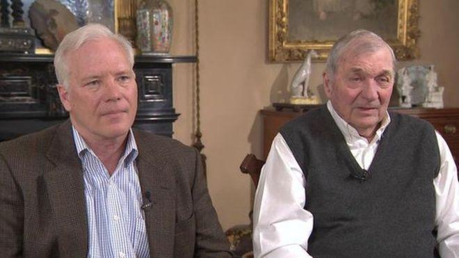 William y Harrison Tyler viven aún en una propiedad que perteneció al décimo presidente de Estados Unidos. (Foto: CBS)