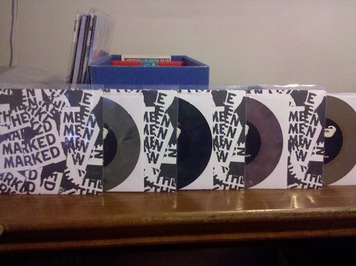 "Marked Men / This Is My Fist - Split 7"" - 4 Flavors by factportugal"
