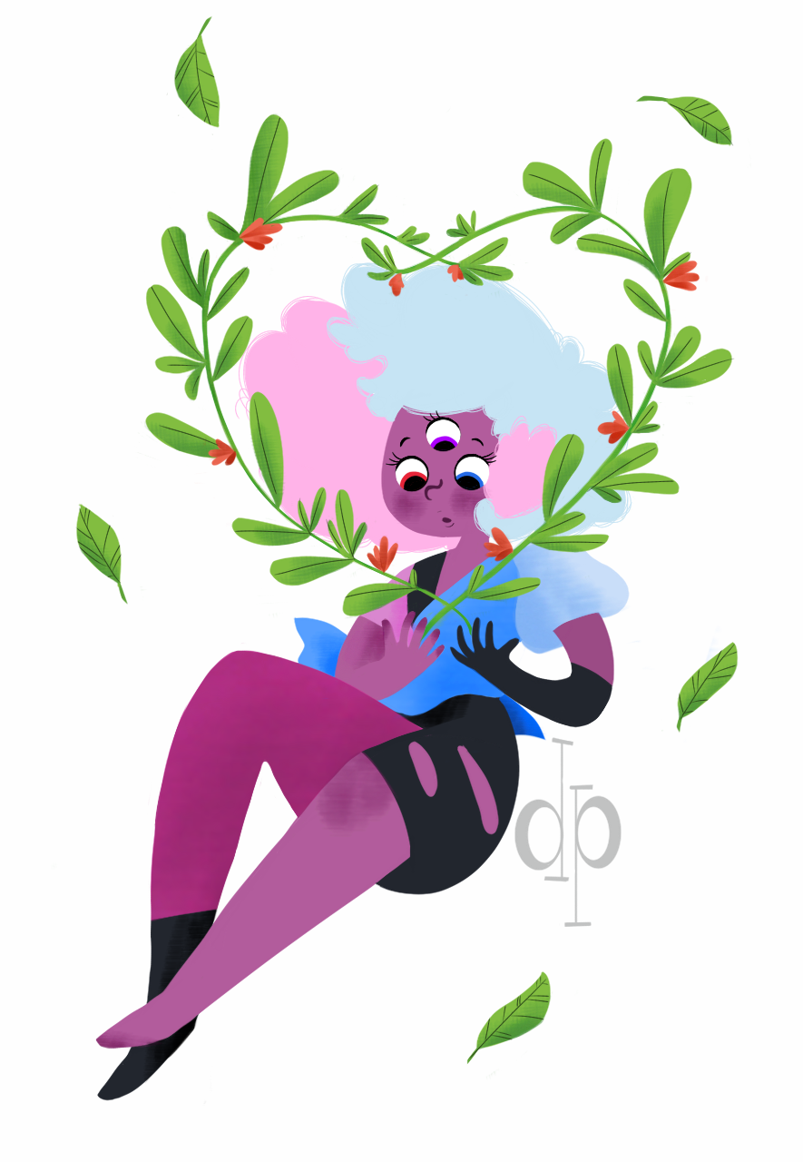 I'm back with cotton candy garnet!!