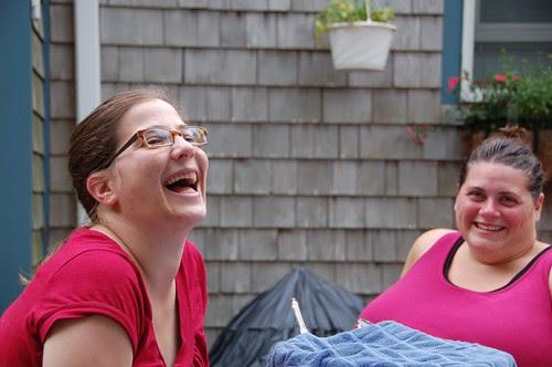Staci and Sarah