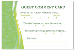 PCS-1090 - salon postcard flyer