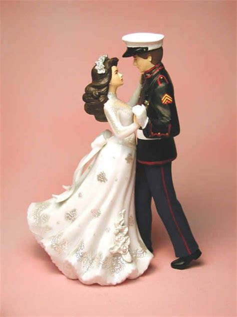 Marine Corps Wedding Cake Toppers   Wedding and Bridal