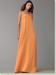 ellen tracy linen maxi dress