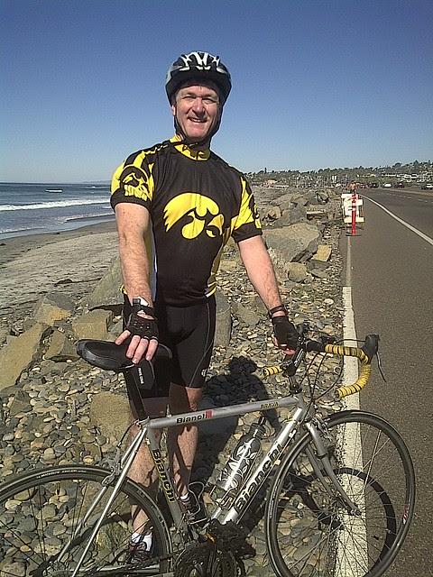 Biking north of San Diego