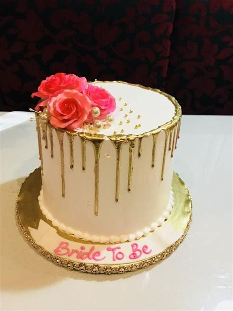 Atika Bridal Shower Cake   Rashmi's Bakery