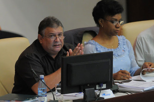 Republic of Cuba Vice President of the State Council of Ministers Marino Murillo Jorge. He delivered a report in December 2012 on the economic reforms being implemented in Cuba. by Pan-African News Wire File Photos